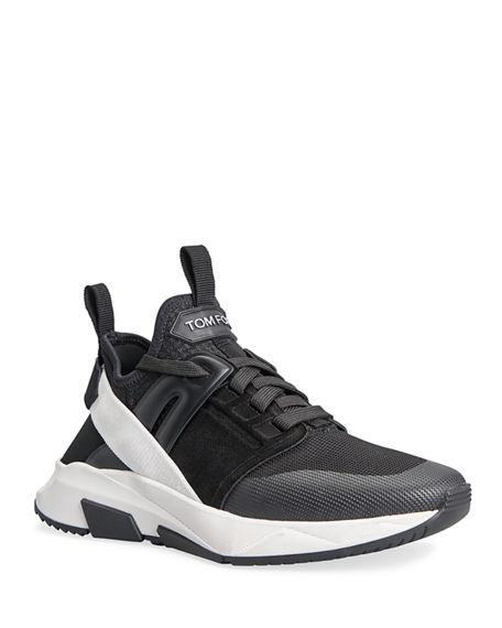 TOM FORD Jago Contrast Trainer Sneakers