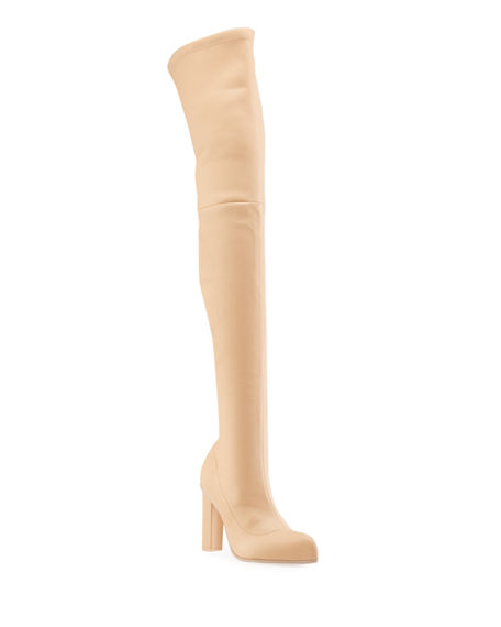 Alexander McQueen Stretch Napa Over-the-Knee Boots