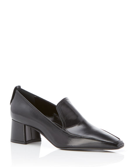 Marion Parke Phoenix Leather Loafer-Style Pumps