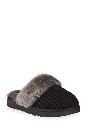 UGG Cozy Knit Shearling Slippers