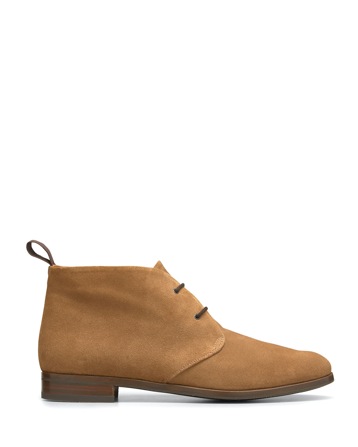 Suede Loafer Booties