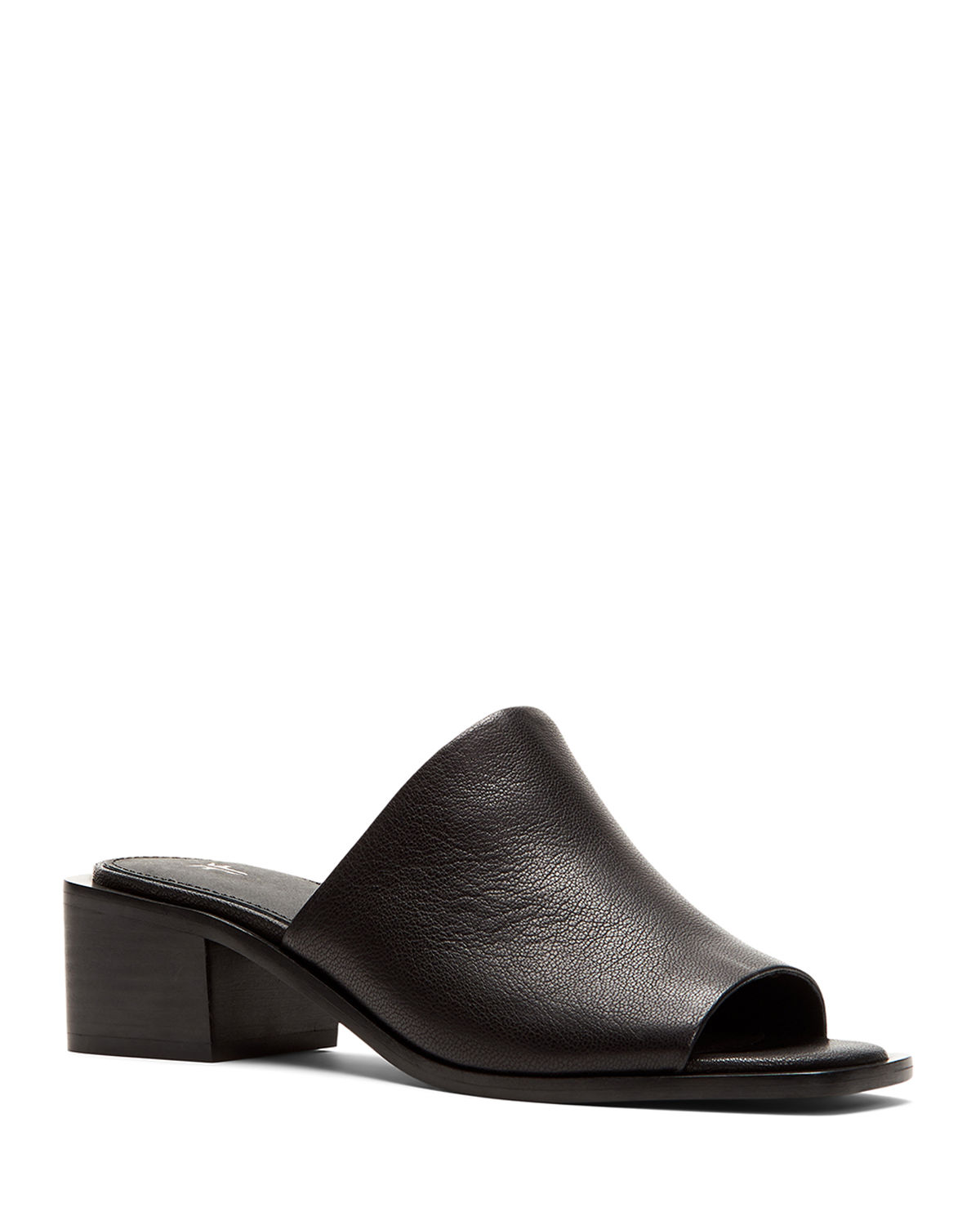 Lucia Leather Mule Sandals