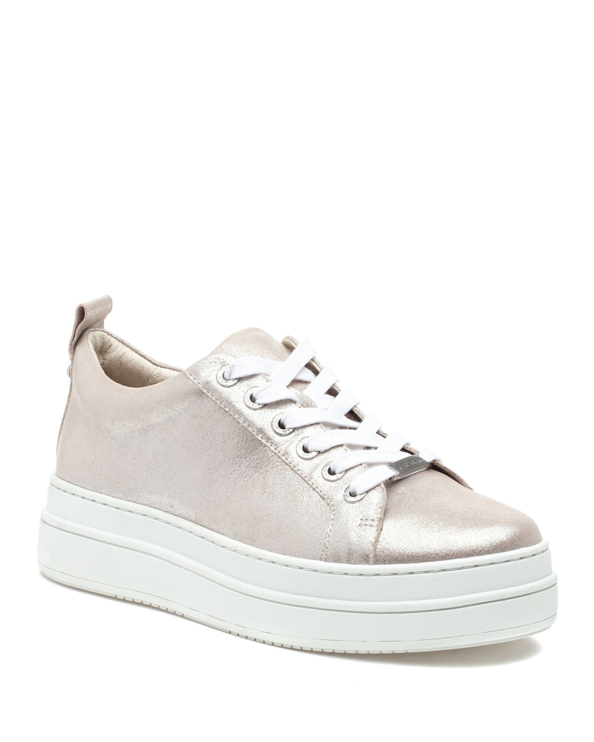 Jslides NOCA LEATHER LOW-TOP SNEAKERS
