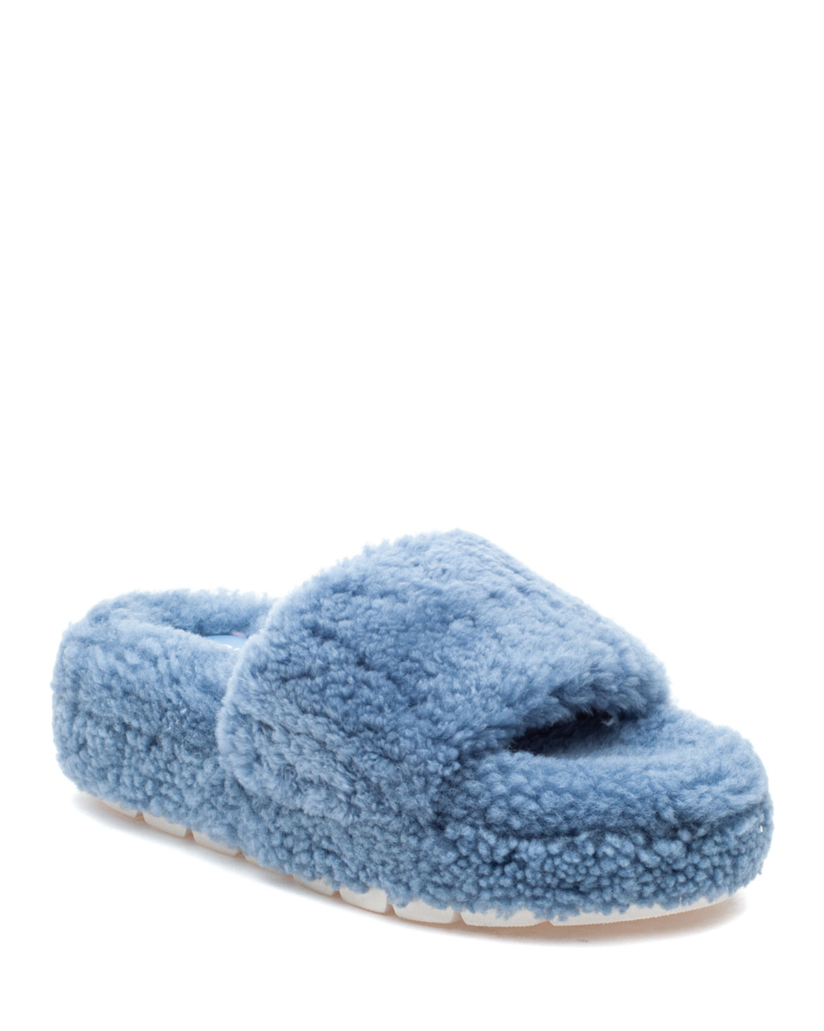 Bryce Shearling Comfy Slippers