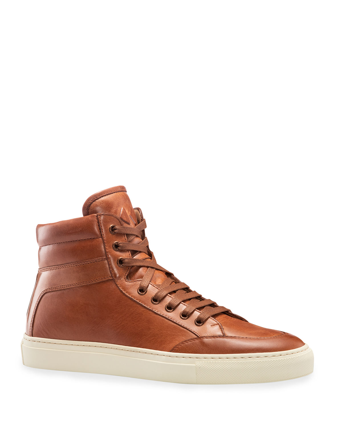 Primo Leather High-Top Sneakers