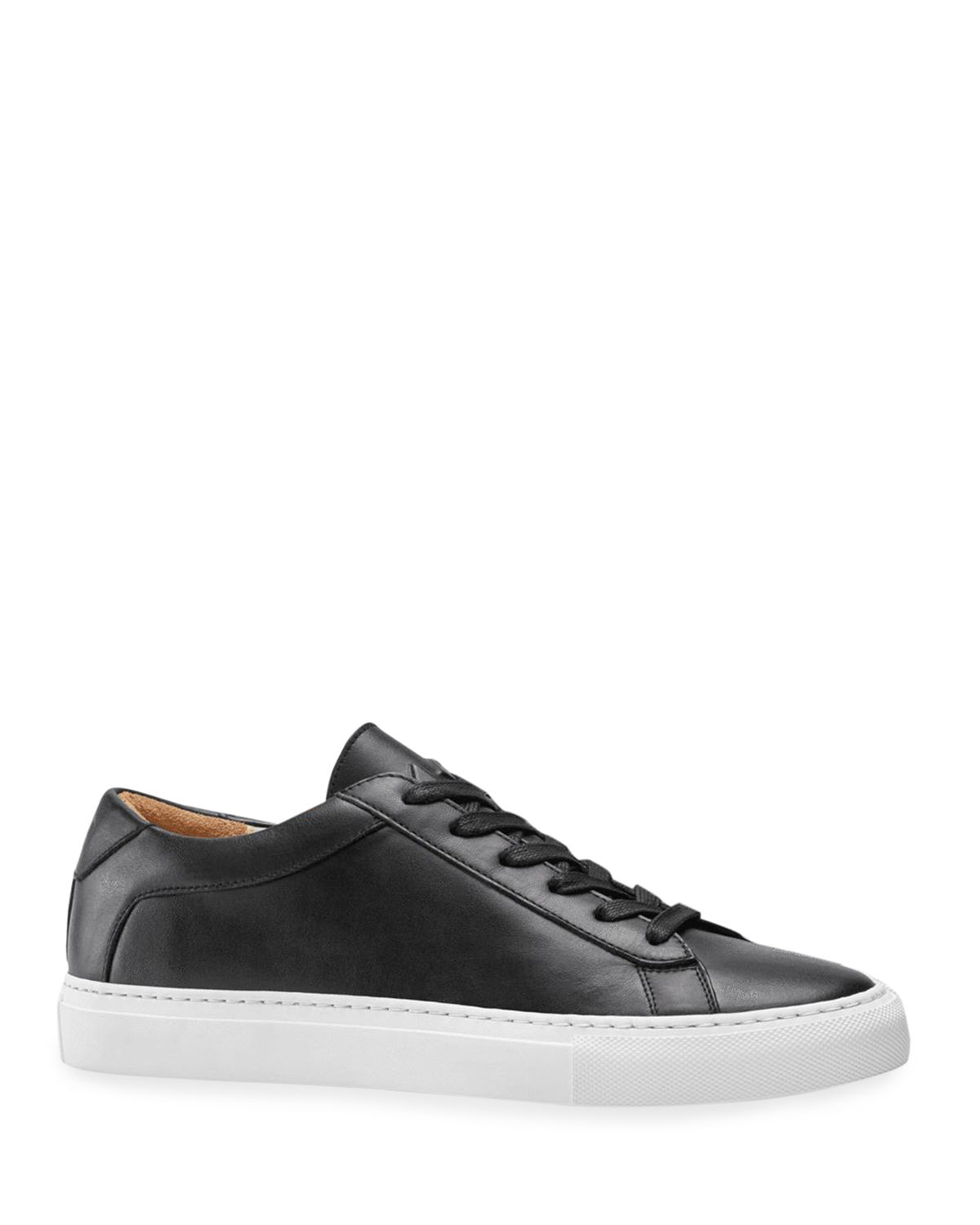 Capri Mixed Leather Low-Top Sneakers