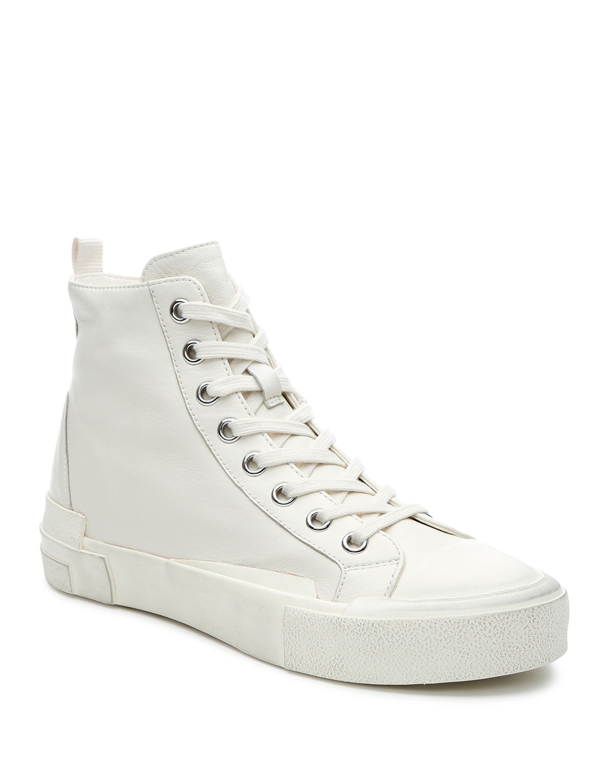Ghibly Bis Leather High-Top Sneakers