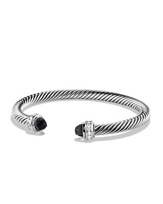 David Yurman Cable Classics Bracelet with Prasiolite and
