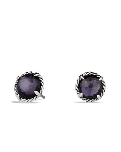 Chatelaine Earrings with Amethyst