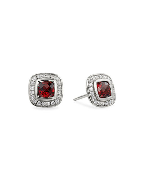 David Yurman Petite Albion Earrings with Semiprecious Stone and Diamonds