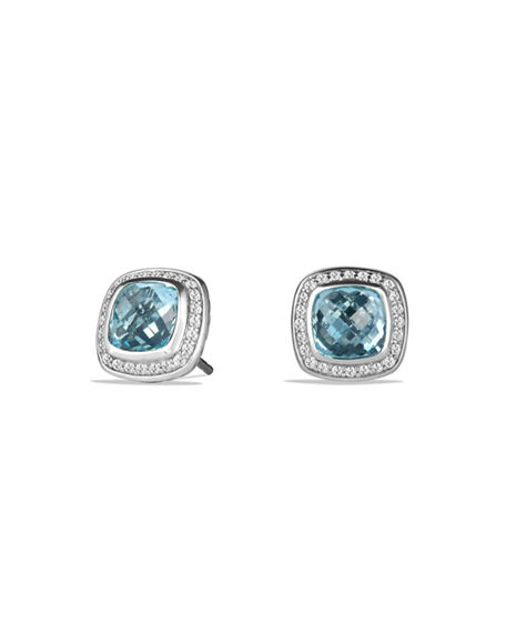 David Yurman Albion Stud Earrings with Diamonds