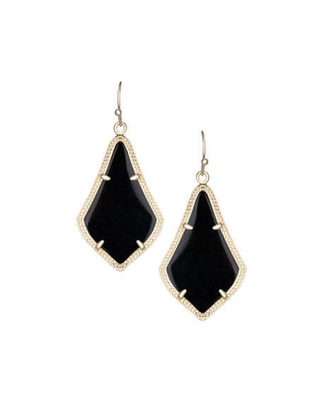 rose earrings in metallic lisa drops no hoop diamond smokey lyst with detachable color quartz product gold jewelry nik
