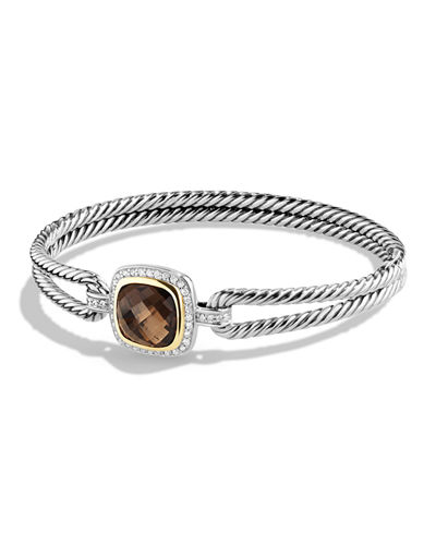 David Yurman Albion Bracelet with Diamonds and 18k