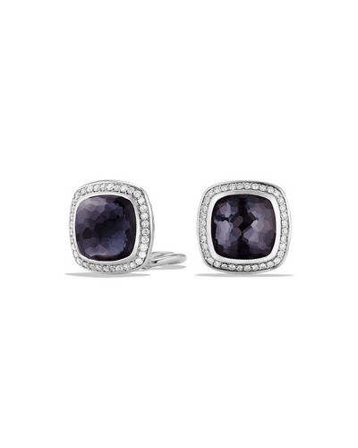 11mm Albion Earrings with Diamonds