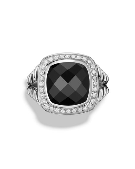 Image 3 of 5: David Yurman Albion Ring with Diamonds