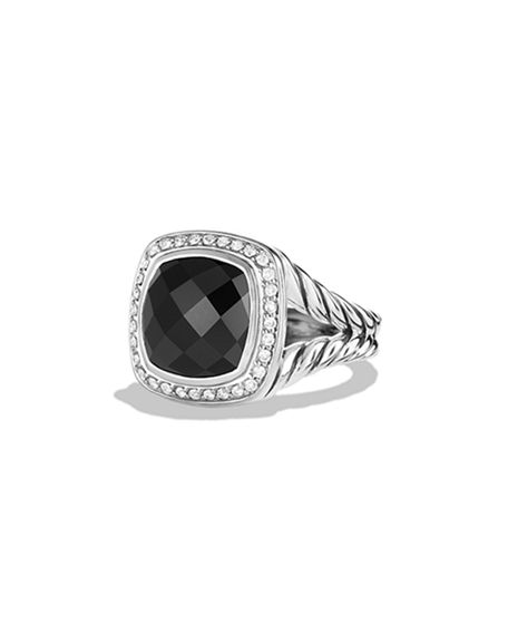 Image 1 of 5: David Yurman Albion Ring with Diamonds