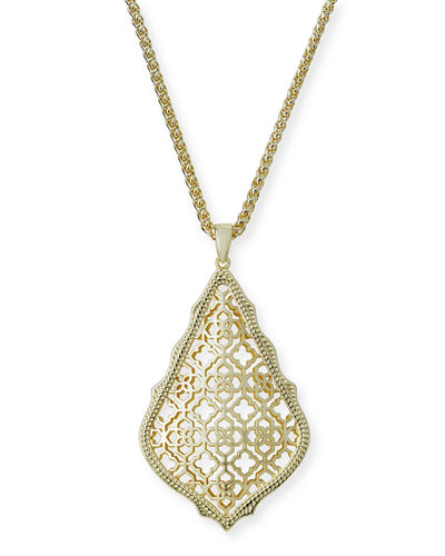 Kendra Scott Aiden Mixed Metal Pendant Necklace