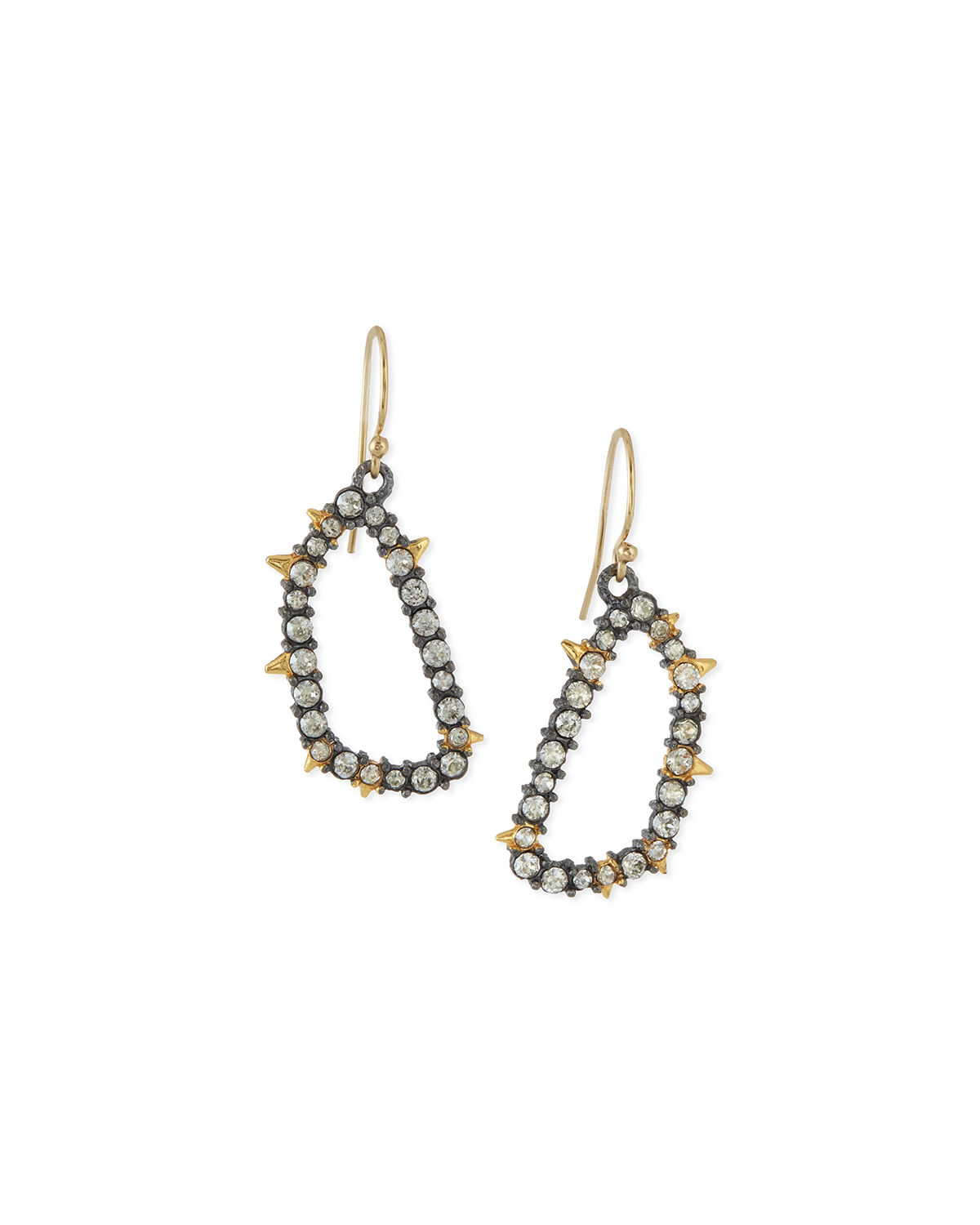 Elements Spiked Crystal Earrings