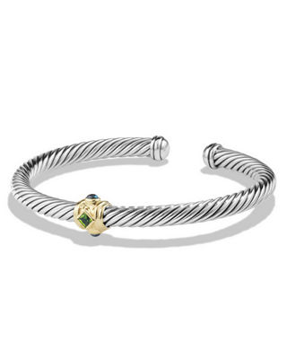 David Yurman 5mm Renaissance Single Station Bracelet