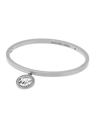 Michael Kors Fulton Logo Charm Bangle