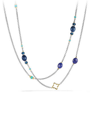 Spring Bead Layering Necklace, 40""