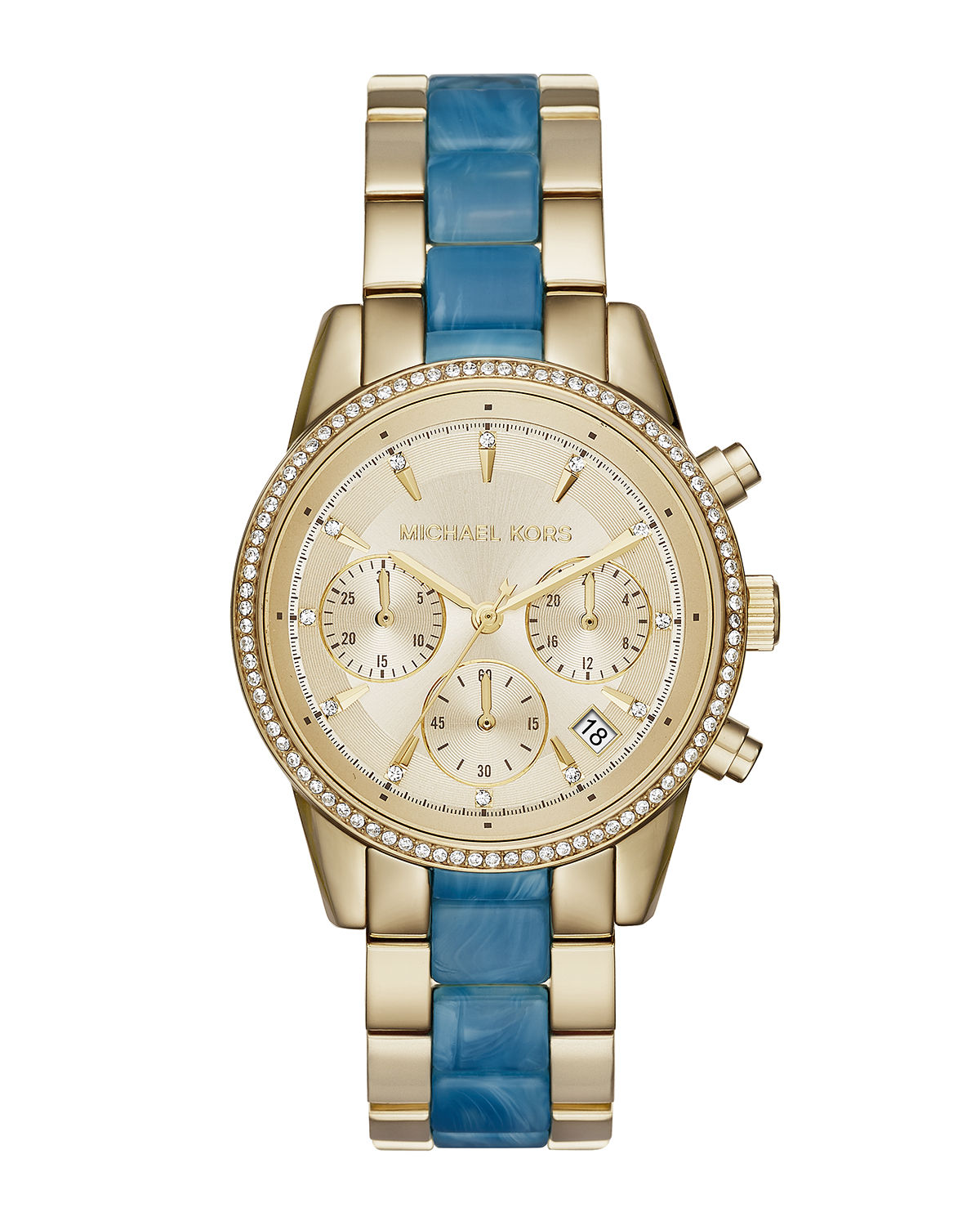 37mm Ritz Bracelet Strap Chronograph Watch