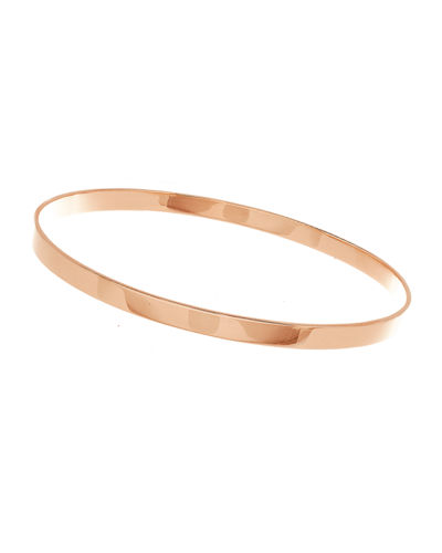 LANA Medium 14K Gold Vanity Bangle