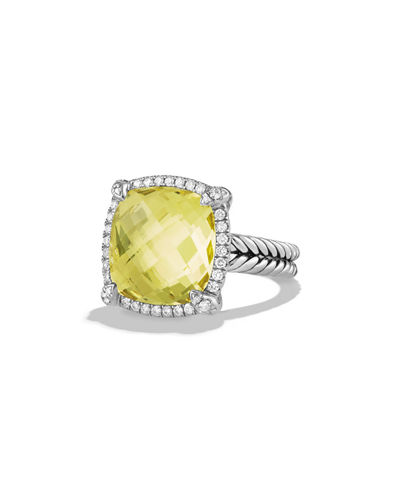 14mm Châtelaine Ring with Diamonds