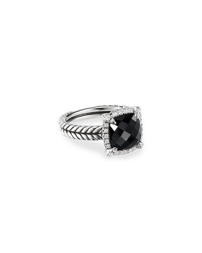 David Yurman 9mm Châtelaine Ring with Diamonds