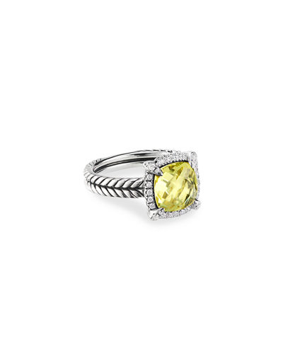 9mm Châtelaine Ring with Diamonds