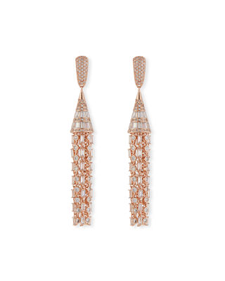 Image 1 of 3: Monarch Deco Tuile Earrings