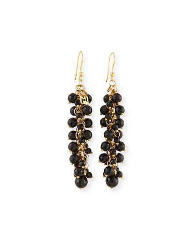 Grappolo Beaded Dangle Drop Earrings