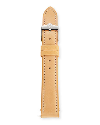 Gomelsky by Shinola Gomelsky Q Leather Watch Strap
