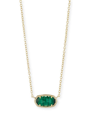 Image 1 of 3: Elisa Birthstone Crystal Necklace