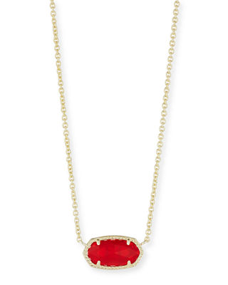 Kendra Scott Elisa Birthstone Crystal Necklace