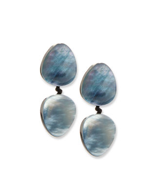 Viktoria Hayman Star Dust Resin Clip-On Earrings tsjIhjf