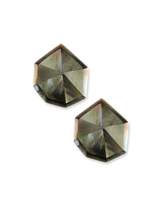 Viktoria Hayman Star Dust Resin Clip-On Earrings ocVoLvJw