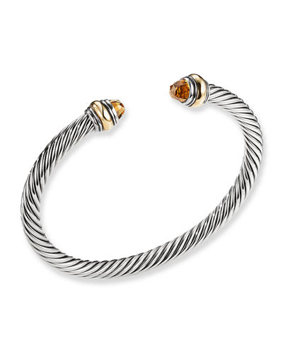 Cable Classics Bracelet with Gold