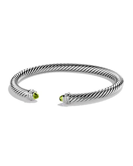 David Yurman Cable Classics Bracelet with Diamonds