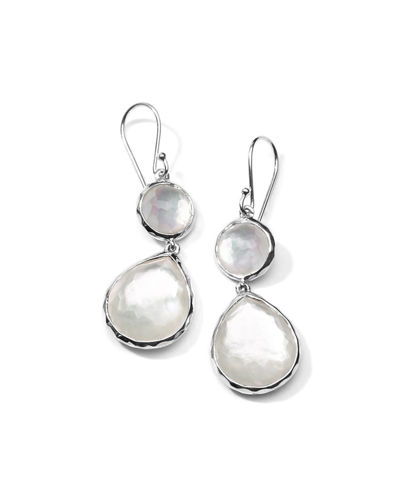 Ippolita Wonderland Mini Teardrop Snowman Earrings
