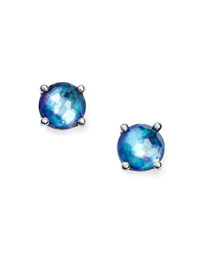 Silver Rock Candy Mini Stud Earrings