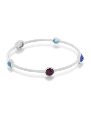 Image 1 of 2: Rock Candy® 5-Station Bangle in Amazonite/Turquoise