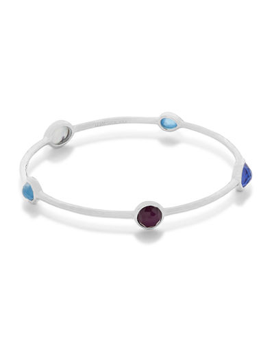 Rock Candy® 5-Station Bangle in Amazonite/Turquoise