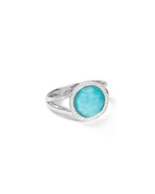 Ippolita Stella Mini Lollipop Ring with Diamonds, 0.15