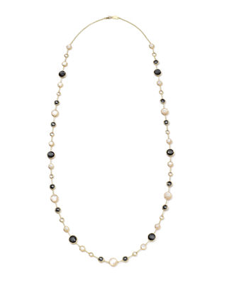 Image 2 of 2: 18k Gold Rock Candy Lollitini Necklace in Multi, 36""