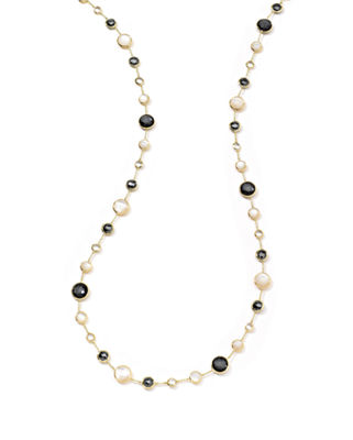Image 1 of 2: 18k Gold Rock Candy Lollitini Necklace in Multi, 36""