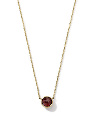 Ippolita 18K Gold Mini-Lollipop Birthstone Necklace, 16-18