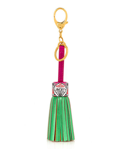 Rainbow Tassel Bag Charm
