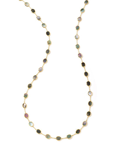 18K Polished Rock Candy Necklace