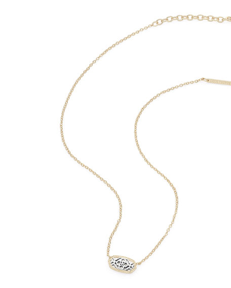 Kendra Scott Jewelries ELISA STATEMENT NECKLACE IN YELLOW GOLD PLATE